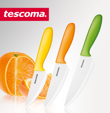 TESCOMA knife with ceramic blade VITAMINO